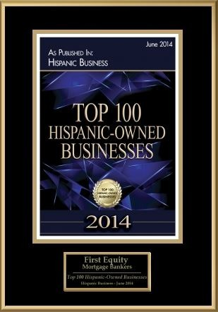 Award 6- Top 100 Hispanic-Owned Businesses