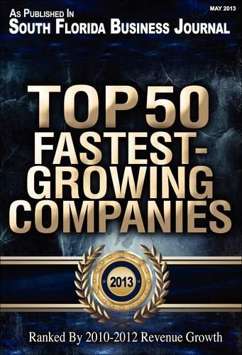 SFBJ Top 50 Fastest growing companies 2013